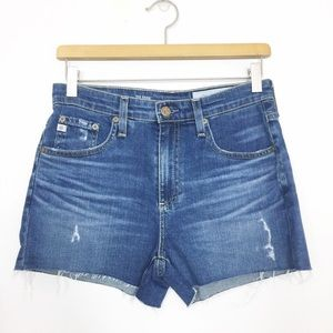 AG Adriano Goldschmield The Sadie High Rise Shorts